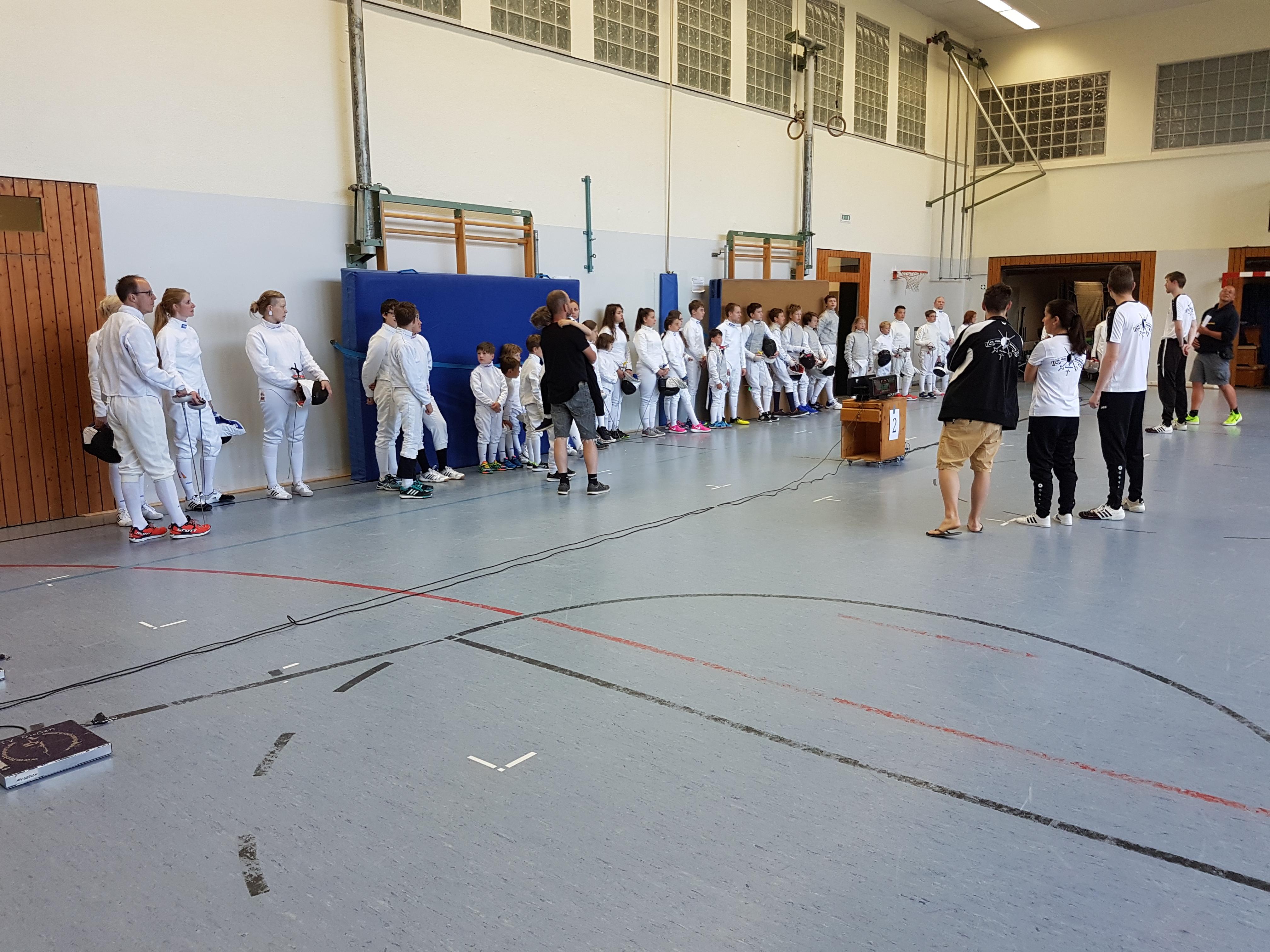 Gesamtbild Teilnehmer Turnierreifeprüfung